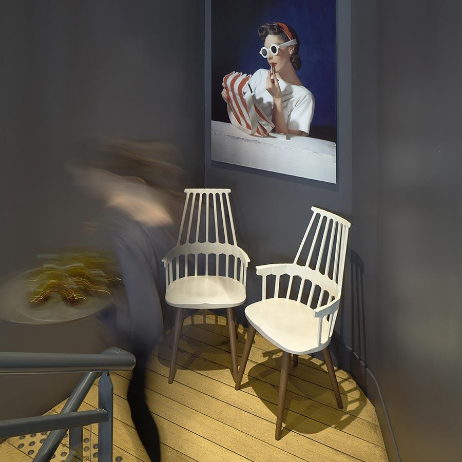Restaurant charles H aménagement design