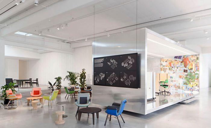 IDM - Agencement de bureau IDM usm meuble vitra design