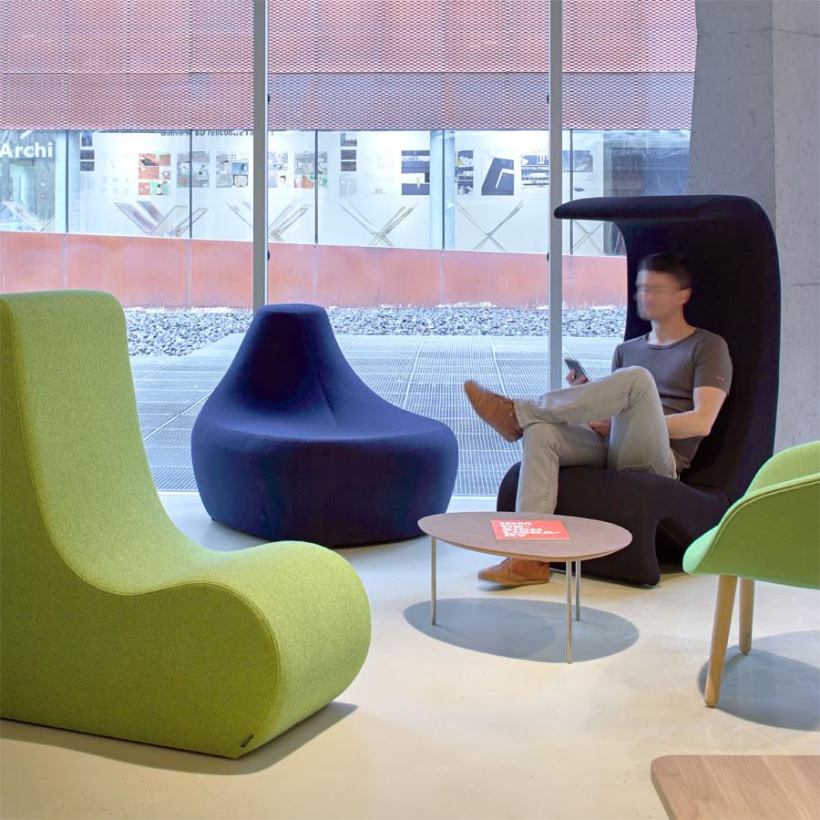 IDM - Aménagement espace détente fauteuil