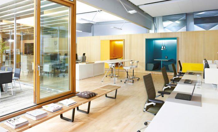 IDM - Aménagement espace de travail IDM USM VItra Citizen Office
