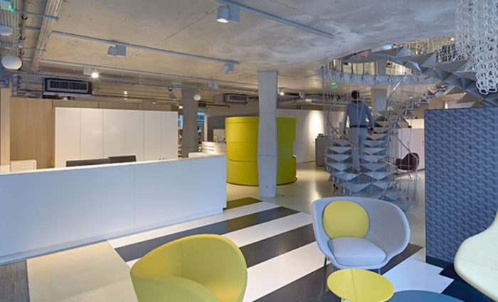 IDM - Aménagement espace de travaill showroom IDM