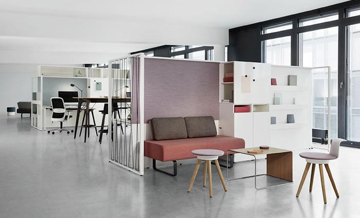 IDM - Bureau design aménagement IDM Bene Mobilier Frame