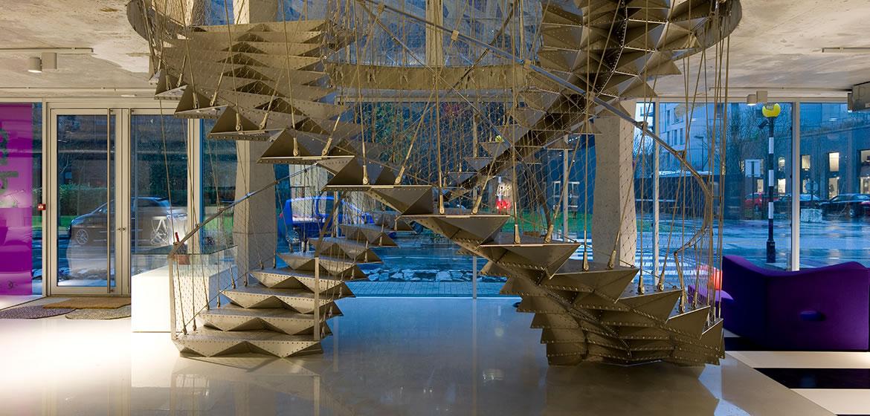 IDM - Immeuble Manny Escalier locaux IDM Nantes