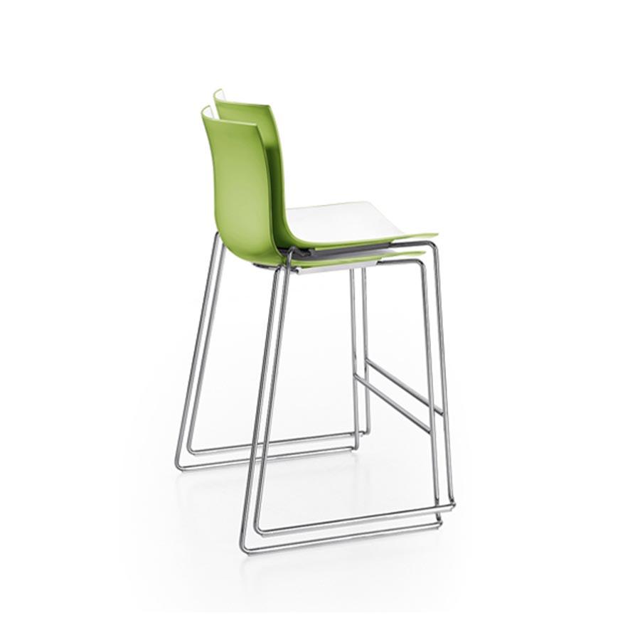 chaise stool haute arper