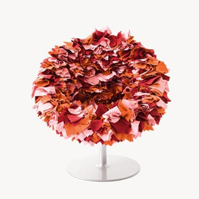 fauteuil bouquet de fleurs moroso