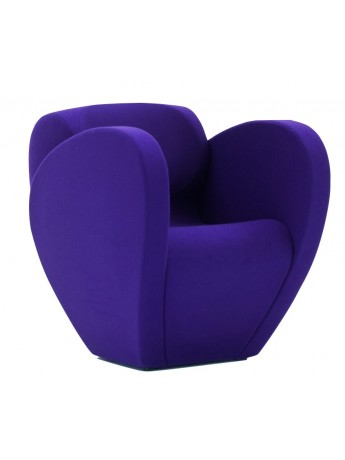 lounge chair fauteuil violet moroso
