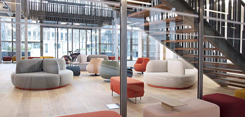 IDM - Aménagement de bureau pour le Groupe KERAN à Nantes